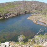 Bournda Lagoon from lookout (105634)