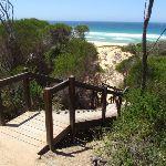 Stairs onto North Tura Beach (106309)