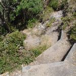 Steep steps onto North Tura (106534)