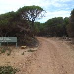 Sign before Pulpit Rock car park (107137)