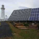 Green Cape Lighthouse's solar panels (107599)