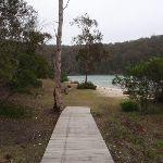 Boardwalk to Severs Beach picnic area (107932)