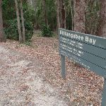 Signpost at Bittangabee Bay picnic area (108130)
