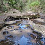 Water ponds in rocks (146874)