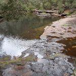 Water running over rocks Sassafras Creek (147540)