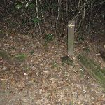 Arrow marker along track (147597)