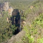 Bridal Veil Falls from Govetts Leap Lookout (15070)