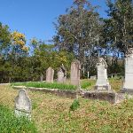 Upper Mangrove Cemetery headstones (167222)