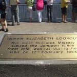 Queen Elizabeth Lookout plaque (16885)