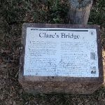 Information Sign at Clare's Bridge (169874)