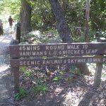 Round Walk sign (17233)