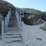 Steps at Norah Head (194882)