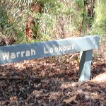 Warrah Lookout sign (218126)