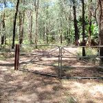 Gate at the bottom of Pearl Beach / Patonga fire trail (219662)