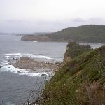 View from Little Beach access Track to Maitland Bay Headland (22025)