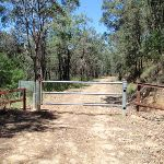 Gate and National Park boundary (223979)
