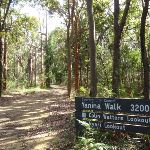 Yanina Walk sign at track head (234092)