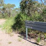 Coast track sign near Int of Geebung Track and Campbell Dr (250348)