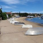 Boats beside path in Watsons Bay (256325)