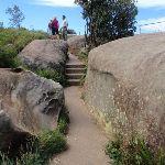 Steps just below the Bluff (256691)