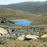 Headley Tarn from the Main Range track (268286)