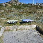 Information signs on the Mt Kosciuszko path (271367)