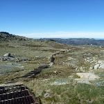 Looking down the steps towards Thredbo (271637)