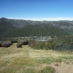 Looking down to Thredbo Village from just below Frostbite cafe (272555)