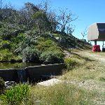 Small dam near Gunbarrel Express on Merritts Traverse (272660)