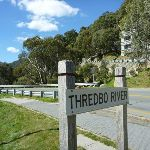 Thredbo River sign (277214)
