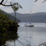 Boat on Cowan Creek at Jerusalem Bay (28802)