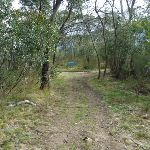 Nearing Int of Bullocks Walking and car park tracks (294962)