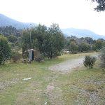 Walking past the water monitoring station (295101)