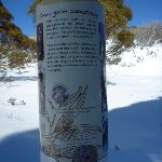 Snow gum sanctuary sign (300046)