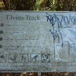Elvina Track sign (303927)