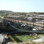 Metal bridge to Cape Banks in Botany Bay National Park (310142)
