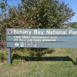 Sign at the boundary of Botany Bay National Park (310406)
