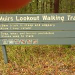 Sign at Muirs Lookout near Cooranbong (320018)