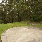 Concrete feature near the Mt Sugarloaf car park (324410)