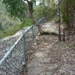 Fenced section of track on the west side of Hornsby Heights (328361)
