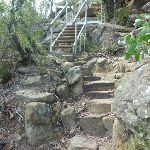 Staircase on northern side of Sams Creek valley (331664)