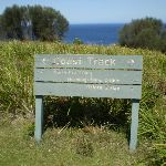 The sign at Burgh Ridge Track (sth) (33413)