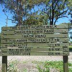Charlestown Park Track head sign (337609)