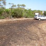 Parking at the top of Garie Rd (34028)
