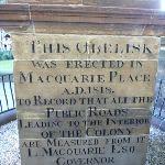 Macquarie Place Obelisk inscription (341887)
