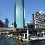 Looking at the Circuar Quay Ferry wharf from the water (342055)