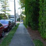 Walking along Valentia Street (342283)