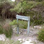 Signpost to Marley Beach (35012)