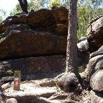 Steep rocky section east of Deep Bay creek (354791)