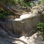 Metal peg to help climb up rock (354854)